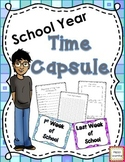 School Year Time Capsule- beginning of the year and end of the year activity