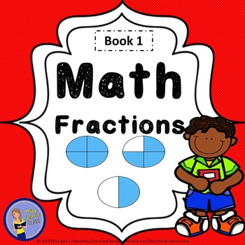 Beginning to Learn About Fractions - Student Math Practice Book 1