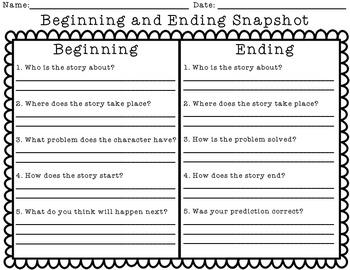 Beginning/Ending Snapshot