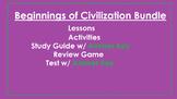 Beginnings of Civilization Unit Bundle