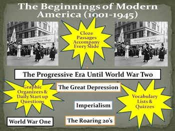 Progressive Era-Great Depression