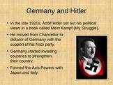 Beginnings of WWII