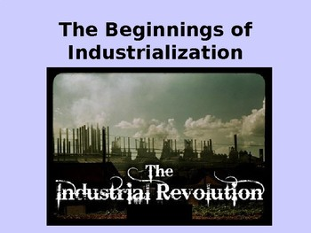 Beginnings of the Industrial Revolution in Europe