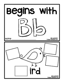 Begins with Bb {a Hands-On Emergent Reader}