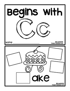 Begins with Cc {a Hands-On Emergent Reader}