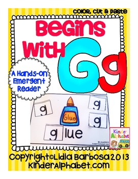 Begins with Gg {a Hands-On Emergent Reader}
