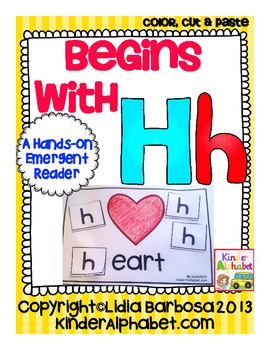Begins with Hh {a Hands-On Emergent Reader}