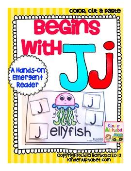 Begins with Jj {a Hands-On Emergent Reader}
