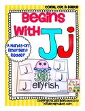 Begins with Jj {a Hands-On Emergent Reader}