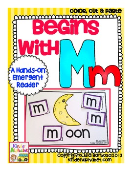 Begins with Mm {a Hands-On Emergent Reader}