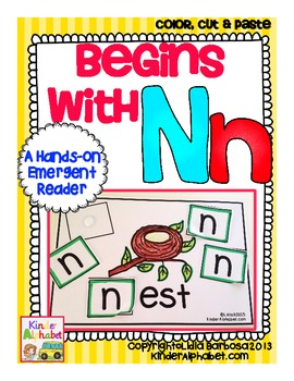 Begins with Nn {a Hands-On Emergent Reader}