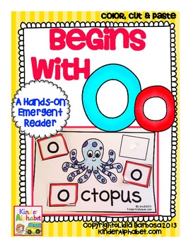 Begins with Oo {a Hands-On Emergent Reader}
