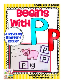 Begins with Pp {a Hands-On Emergent Reader}