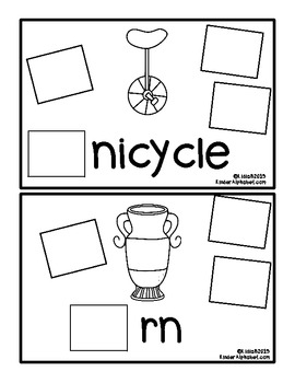 Begins with Uu {a Hands-On Emergent Reader}