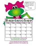 Behavior 2013 - 2014 Monthly Calendars & Communication Log