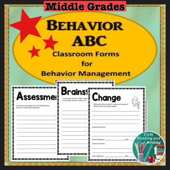 Behavior Management - Behavior ABC