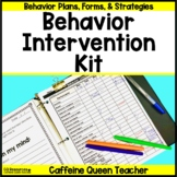 Behavior Management Kit with EDITABLE Forms