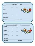 Behavior ABC Chart