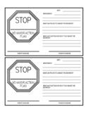 Behavior Action Plan