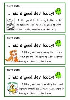 Behavior Action Plans