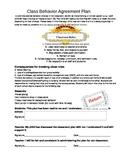Behavior Agreement Plan