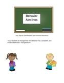 Behavior Aimlines