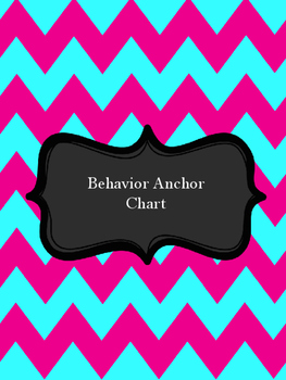 Behavior Anchor Chart