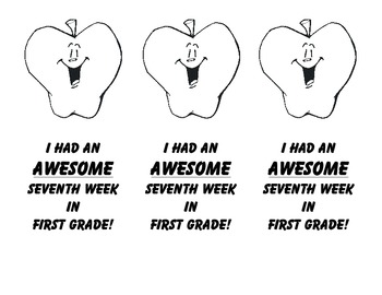 Behavior Badges for First Grade