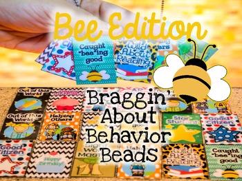 Behavior Badges/Beads (FREE BEE EDITION)