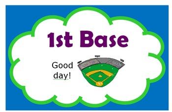Behavior Baseball Clip Chart