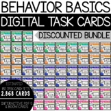 Behavior Basics Digital Task Cards Bundle