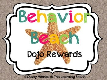 Behavior Beach Rewards *Behavior Management Tool*