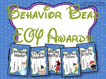 Behavior Bead Awards - Peter Pan End of Year