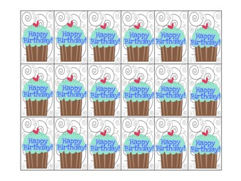 Behavior Beads Birthday Freebie