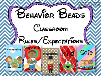 Behavior Beads - Class Rules/Expectations