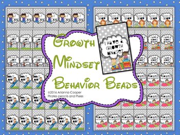 Behavior Beads - Growth Mindset