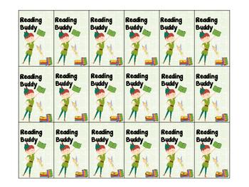 Behavior Beads - Reading Buddy (Peter Pan Theme)