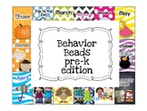 Pre-K edition Behavior Beads...also for Kindergarten