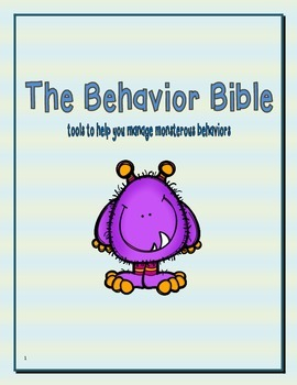 Behavior Bible