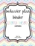 Behavior Binder