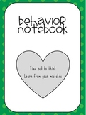 Behavior Binder Student Recording Sheet
