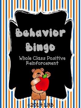 Behavior Bingo [Bear with Apple]