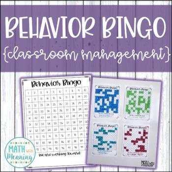 Behavior Bingo Board - Classroom Management Incentive System