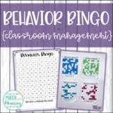 Behavior Bingo Board - Classroom Management Incentive System