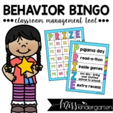 Behavior Bingo Classroom Management Tool