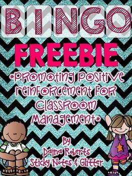 Behavior Bingo {FREEBIE}