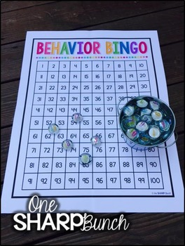 Behavior Bingo FREEBIE {Classroom Management}
