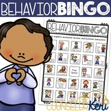 Behavior Bingo Game for Elementary School Counseling