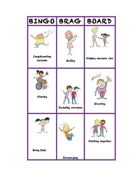 Behavior Bingo: Positive Reinforcement for Individuals