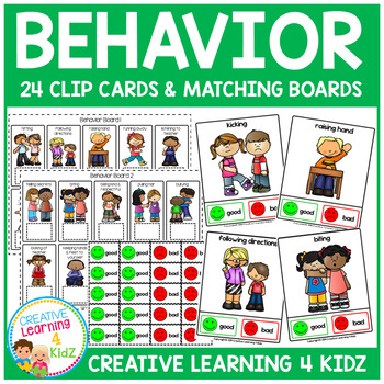 Behavior Clip Cards & Boards